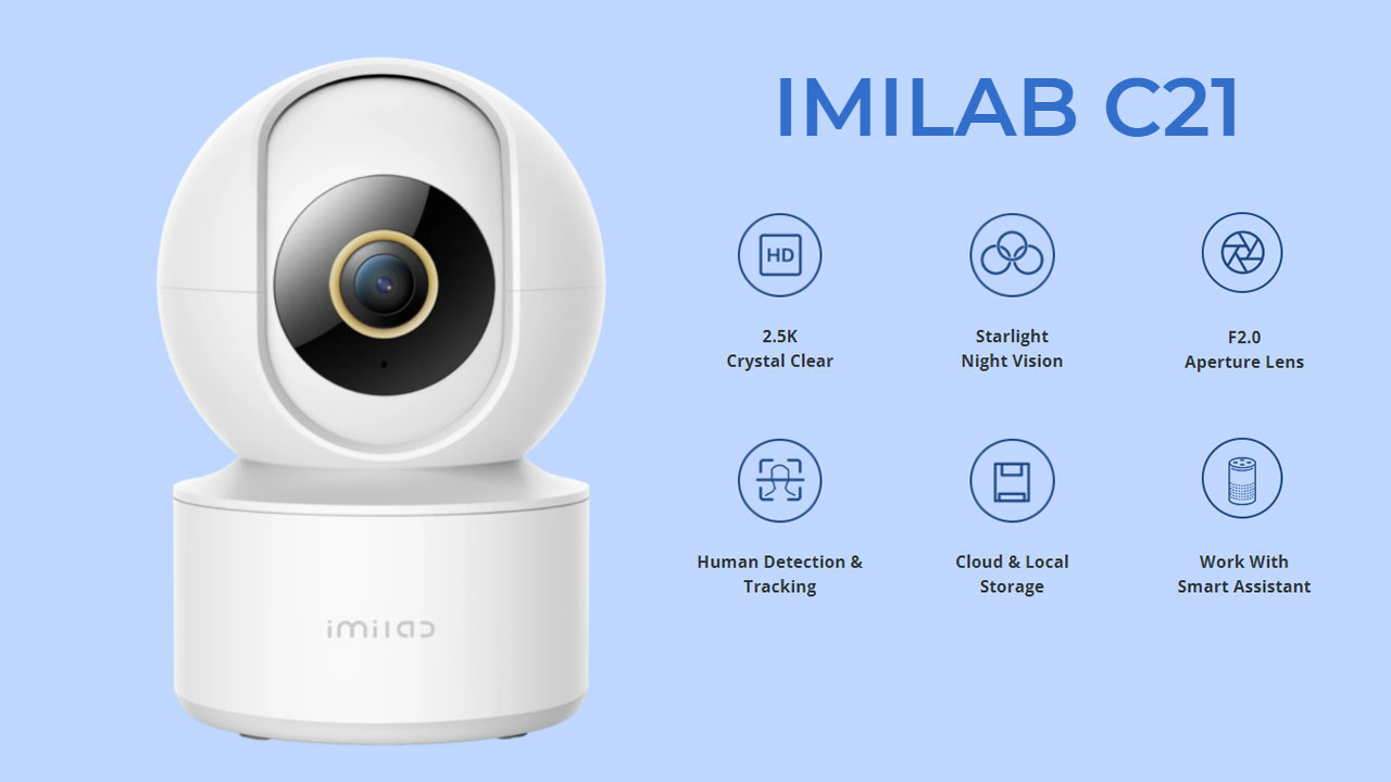 IMILAB C21 Home Security Camera - Destacada