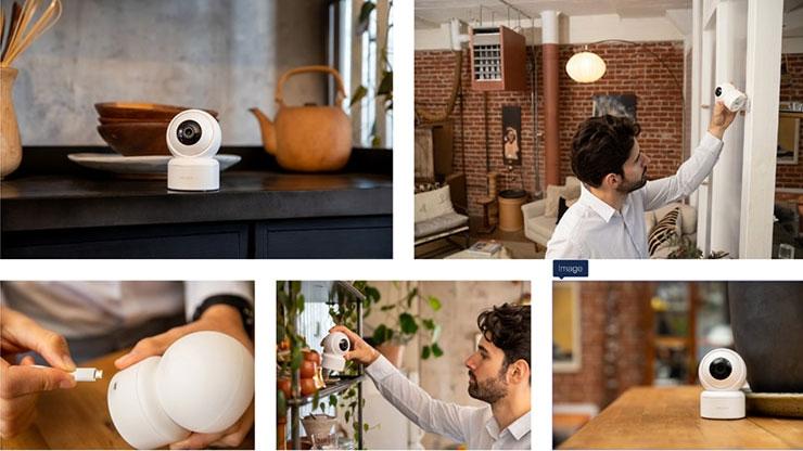 IMILAB C21 Home Security Camera - Instalación