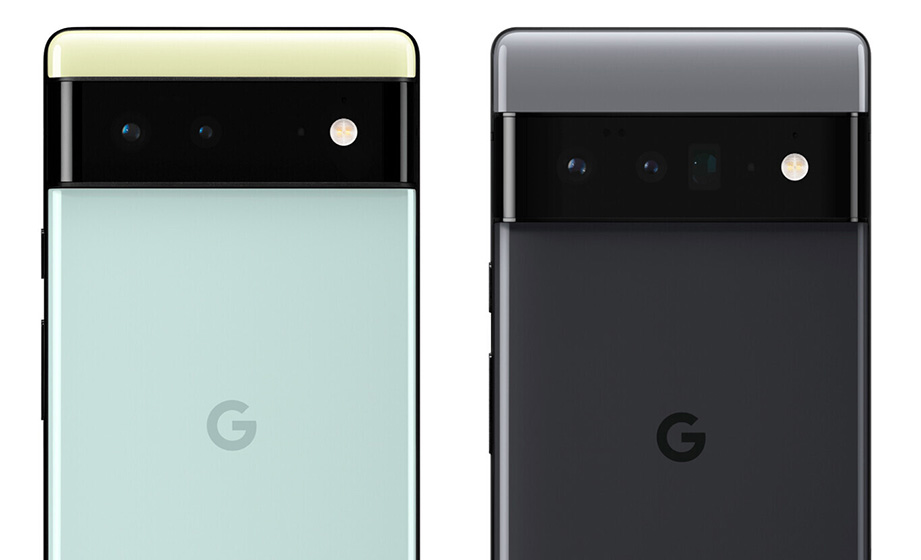 Pixel 6 y Pixel 6 Pro