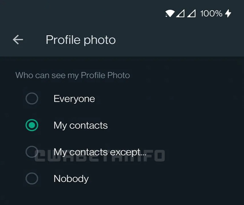 como ocultar la foto de perfil de whatsapp