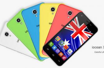 iOcean X1. Un Smartphone básico y de calidad por 68 euros.