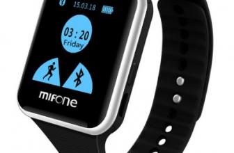 Mifone w15, un smartwatch con estilo y aspecto deportivo.