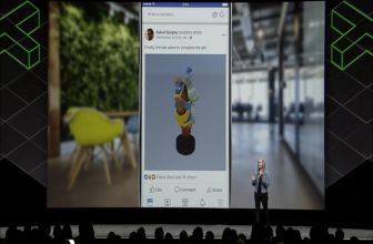 3D Posts de Facebook, la realidad virtual sin gafas RV