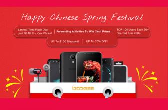 Celebra el Año Nuevo chino con Doogee