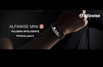 Alfawise Mini 3, la pequeña y barata pulsera inteligente deportiva