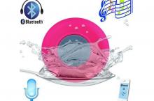 Altavoz Bluetooth BTS-06: Genial incluso para la ducha!