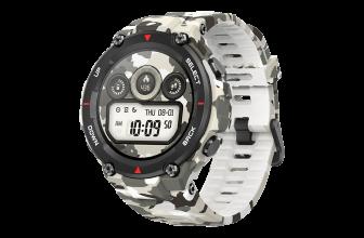 Amazfit T-Rex, un duro smartwatch con espíritu militar