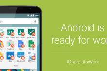 Android for Work, ha sido presentado por Google