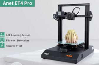 AnetET4 Pro, impresora 3D muy completa e ideal para principiantes