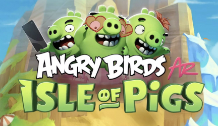 Angry Birds AR: Isle of Pigs ya está disponible para Android