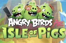 AngryBirdsAR: IsleofPigsya está disponible para Android