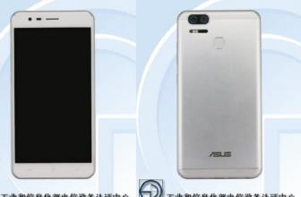 Asus Zenfone 3 Zoom se deja ver en TENAA con doble cámara y tres variedades
