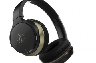 Audio-Technica ATH-AR3BT, auriculares supraaurales inalámbricos con micro