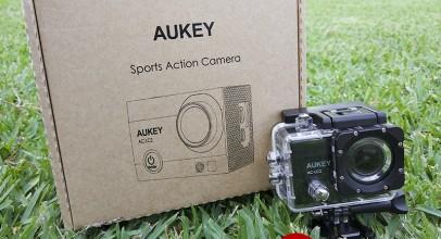 Aukey Cámara deportiva 4K, probamos esta cámara de acción