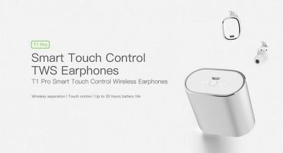 QCY T1 Pro, pequeños y cómodos auriculares Bluetooth