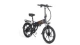 BEZIOR M20, bicicleta eléctrica potente, segura y cómoda