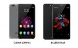 Bluboo Dual vs Oukitel U20 Plus, ¿qué smartphone de doble cámara es mejor?