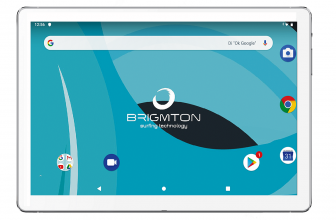 Brigmton BTPC 1025, una tableta asequible con Android Pie y WiFi AC