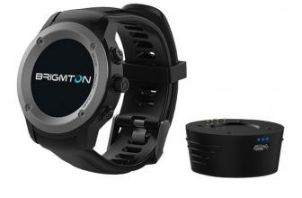Brigmton BWATCH-100GPS, reloj inteligente con GPS integrado