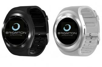 Brimgton BWATCH-BT7, smartwatch básico que permite hacer llamadas