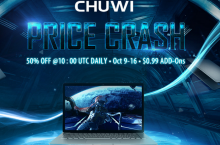 Lanzamiento mundial de CHUWI LapBook Air en GearBest