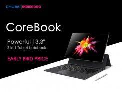 Chuwi lanza su nueva CoreBook en Indiegogo: te contamos sus detalles