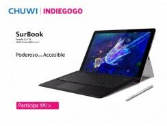 La nueva Chuwi SurBook arrasa en Indiegogo