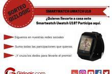 SORTEO: ¿Quieres ganar un Smartwatch Uwatch U18? [FINALIZADO]