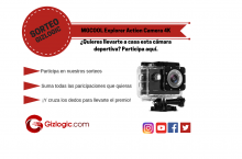 SORTEO: MGCOOL Explorer Action Camera 4K gratis para ti [FINALIZADO]