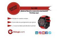 SORTEO: ¿Te quieres llevar gratis un Smartwatch No.1 GS8? [FINALIZADO]