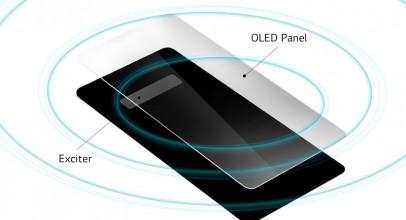 CrystalSoundOLED permitirá alLG G8ThinQusar su panel como altavoz