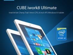 Cube iwork8 Ultimate, Intel en 8 pulgadas