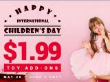 Descubre las mejores ofertas del Día del niño en Gearbest