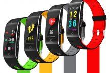 DIGGRO F10, pulsera inteligente OLED para deportes