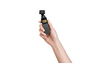 Dji Osmo Pocket, la cámara más pequeña e inteligente de DJI