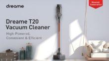 Dreame T20, características de este aspirador sin cable con pantalla HD