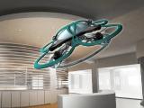 Dron para controlar las horas extras en las oficinas de Japón