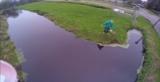 Este chaval estaba estrenando su nuevo drone y….