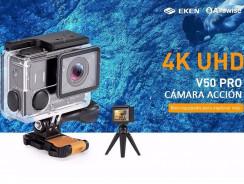 EKEN Alfawise V50 Pro, graba de videos en 4K por muy poco dinero