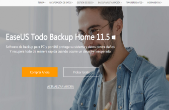 EaseUS Todo Backup Home, para hacer Backup de tus datos importantes