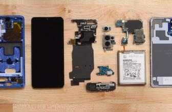 El Samsung Galaxy S20 Plus es una pesadilla para reparar