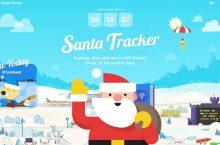 En vivo desde el Polo Norte con Google, llega el SantaTacker2019