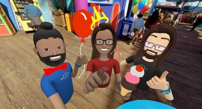 Facebook Spaces, la red social de realidad virtual