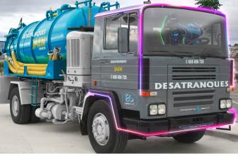 Desatranques Jaén tendrá su propio camión gaming gracias a Newskill