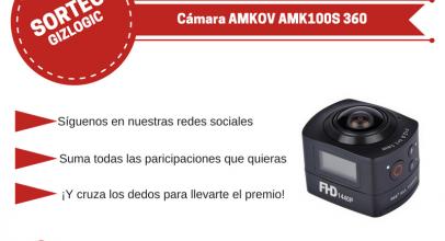 SORTEO: Cámara AMKOV AMK100S 360