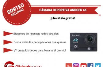 SORTEO: Cámara deportiva Andoer 4K [FINALIZADO]