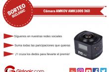 SORTEO: Cámara AMKOV AMK100S 360 [FINALIZADO]
