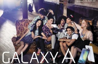 Galaxy A3 y A5, lo nuevo de Samsung en gama media