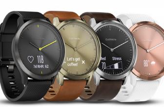 Garmin Vivomove HR, un elegante reloj inteligente híbrido con agujas