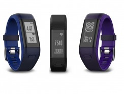 Garmin Vivosmart HR+, pulsera de actividad con ritmo cardíaco y GPS